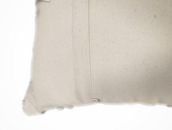 Handmade Throw Pillow Cover sage back