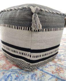handmade bohemian pouf 0004 (2)