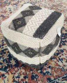 handmade boho pouf 0009